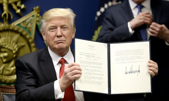Trump's Executive Order Protecting Nation From Foreign Terrorist
