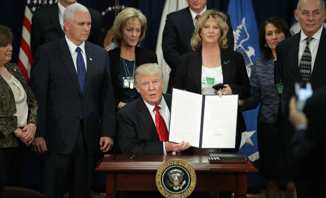 Trump's Executive Order on Enhancing Public Safety in the Interior of the United States