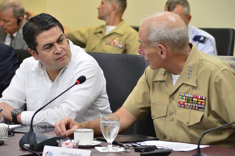 Honduran President Juan Orlando Hernandez & Gen. John Kelly